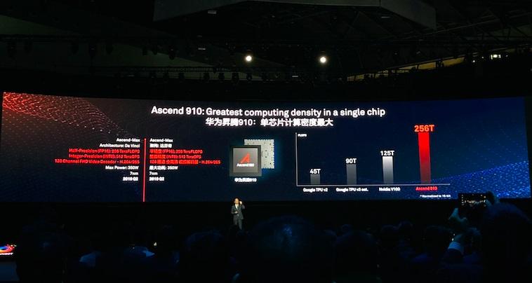 华为两款AI芯片首次曝光 预计明年二季度上市
