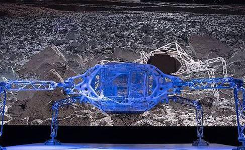 并不是科幻电影道具,外形酷似蜘蛛的着陆器